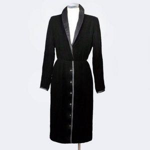 OSCAR DE LA RENTA DESIGNER EVENING DRESS velvet